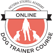 online dog trainer course logo